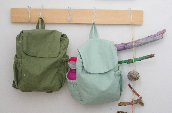 DIY Nature Backpacks: 18 months – 4+ years old