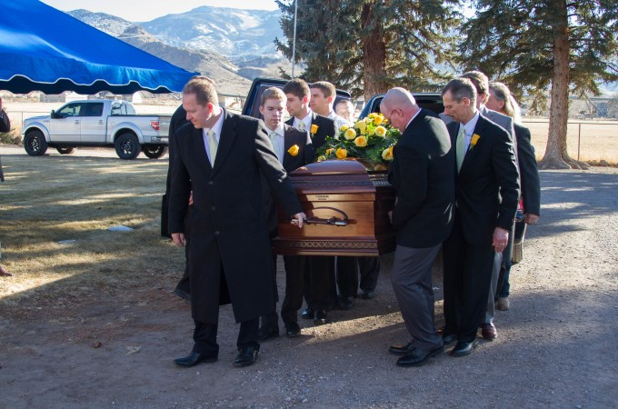 The First Six Weeks, Part 6: Funeral