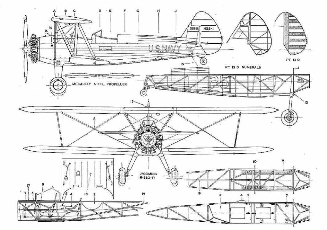 1931 model a Schema moteur