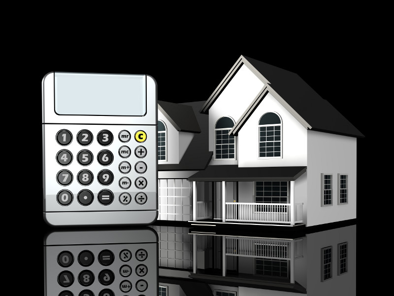 Mortgage Home Loan Calculator - Extra Monthly Payment Principal Interest