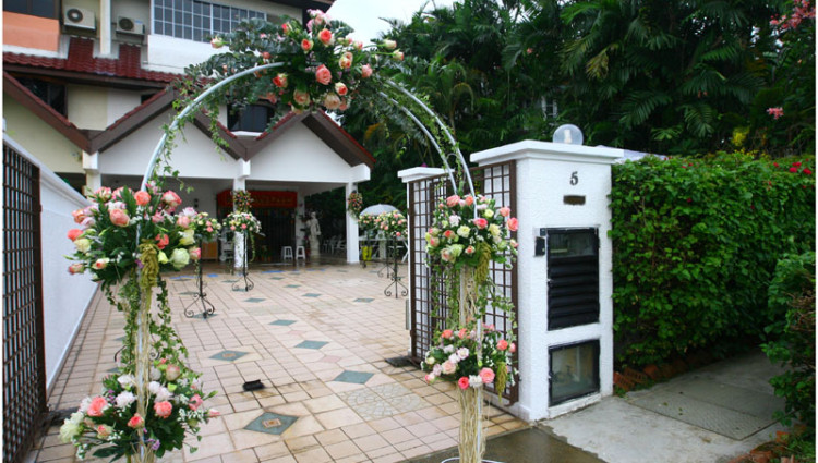 Picture Of Small Wedding Reception Decoration ...
