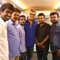Thala Ajith with Actor Soori Family Pictures