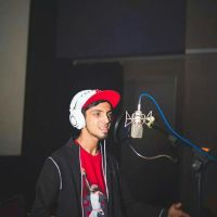 Anirudh at Vedalam Music Recording Stills