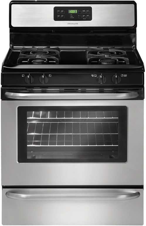 Frigidaire FFGF3053LS 30 Inch Freestanding Gas Range with Quick Boil