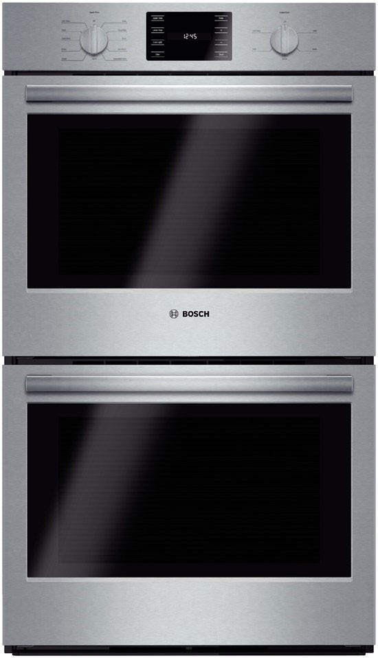 Bosch HBL5651UC 30 Inch Double Electric Wall Oven with 46 cu ft