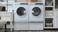 Front Loading Stacking Washer And Dryer  acidproof