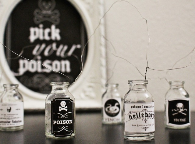 Poison Labels  Drink Table Sign Free Printables A Joyful Riot