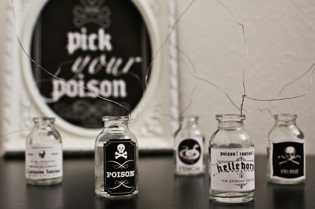 Poison Labels & Drink Table Sign | Free Printables