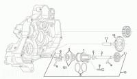 APRILIA RS125 Water Pump Assy