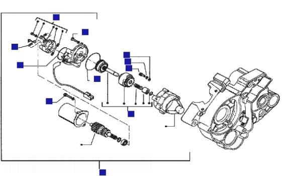 electric starter for honda water pump