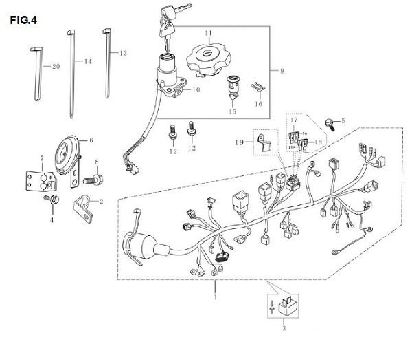 1993 honda accord fan wiring harness diagram