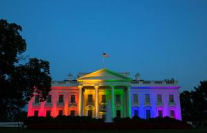 white house gay marriage lights