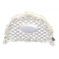 Silver Plated Napkin Holder | aJudaica.com