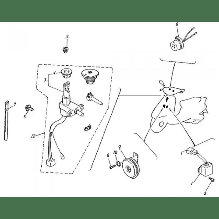 adly silver fox wiring diagram