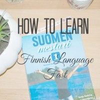 How To Learn Finnish Language Fast