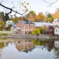 Old Town, Porvoo In Autumn