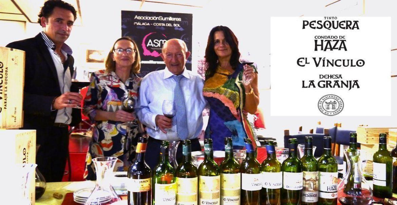AkataVino y Grupo Pesquera cata historica con la ASM