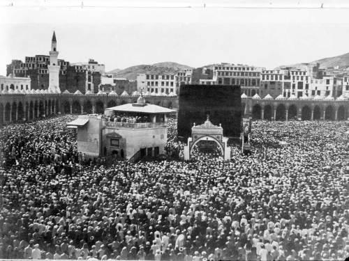 mekkah masjidil haram tempo jaman dulu