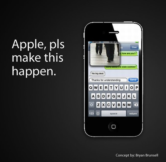 Iphone texting concept 04