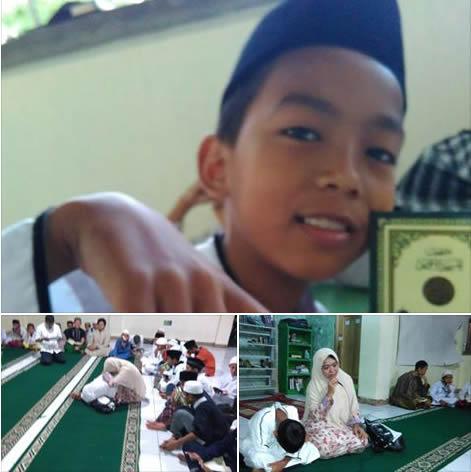 Hafal Qur'an Dalam Setahun, Anak 11 Tahun Ini Ingin Terkenal Di Langit, Meski Tak Terkenal di Dunia