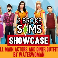2 Broke Sims: Williamsburg Diner & Apartments