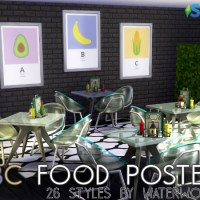 ABC Food Posters