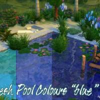 """Fresh Pool Colours """"blau"""""""