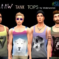 RAAAW Tank Tops für Männer