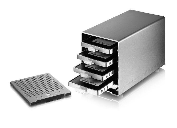 AKiTiO Thunder3 Quad Mini - 4-Bay Thunderbolt 3 Storage AKiTiO