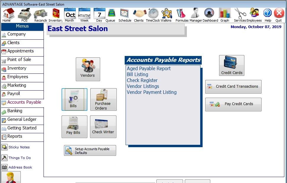 Tour Salon Software Page 41