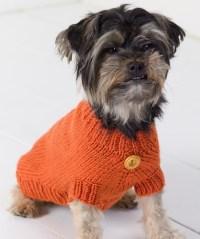 Dog Sweater Knitting Pattern | A Knitting Blog