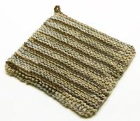 Pot Holder Knitting Pattern | A Knitting Blog