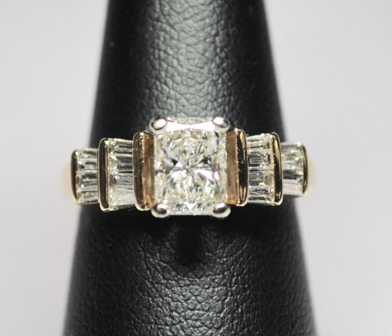 Large Of Radiant Cut Engagement Rings