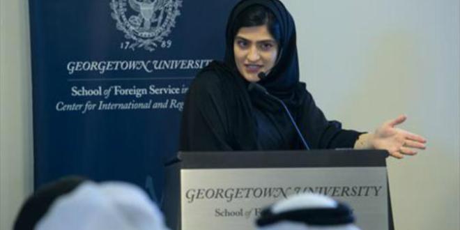 الدكتورة ريم الانصاري الاستاذة الجامعية والباحثة المتخصصة في الجرائم الاقتصادية بدولة قطر