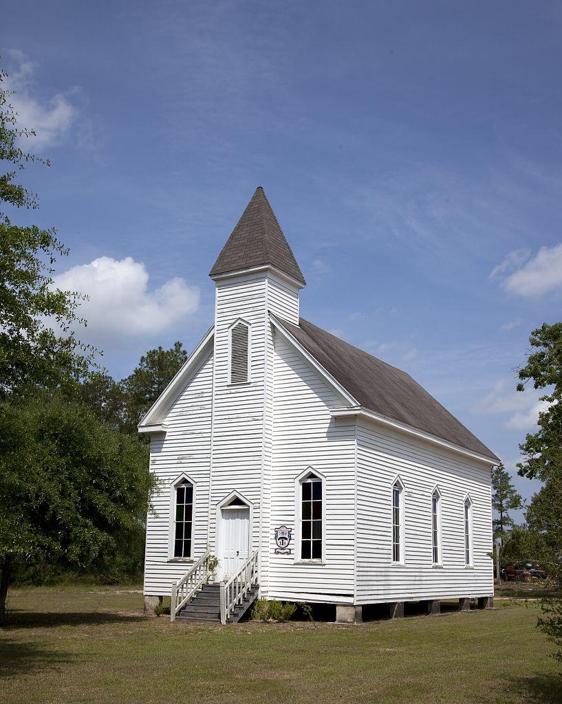 Montpelier methodist church stockton alabama by carol highsmith 2010
