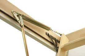 Fakro Wooden Folding Loft Ladder Lwl Lux 3 Section 305cm