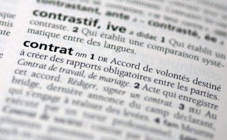 Réforme du droit des contrats : projet de ratification