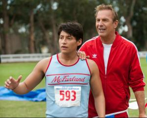 Costner portrays a track coach in his newest film. Photo courtesy of movies.disney.com/mcfarland-usa