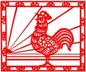 The rooster symbolizes fidelity and punctuality. Photo courtesy of commons.wikimedia.org