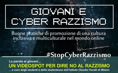 Giovani e Cyber Razzismo, un video-spot per dire NO al Razzismo