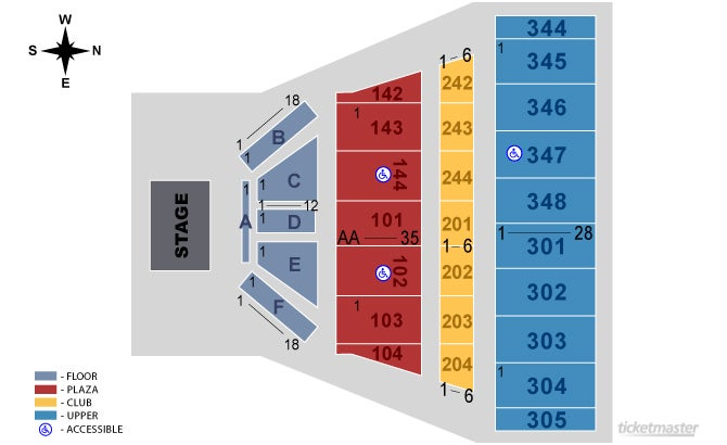 Alamodome Seating Chart Elcho Table