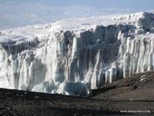 Kilimanjaro Glacier from the summit