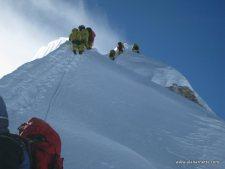 Updates from Autumn Himalayan Climbs: Another Everest Attempt, Manaslu Summits