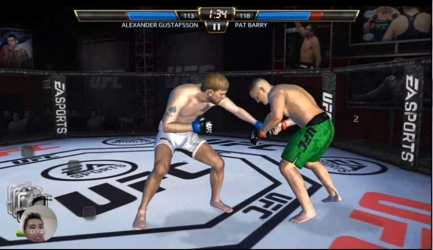 ufc game record