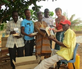 french literature donated to Boke library