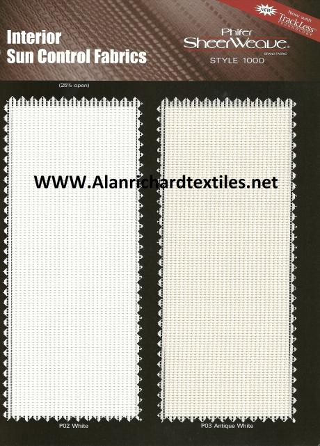 SheerWeave® Sample Cards - sample cards