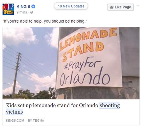 Social media reactions to the Orlando shooting