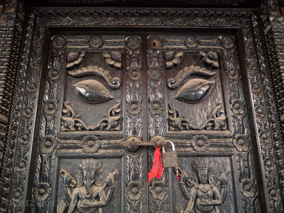 Shrine door