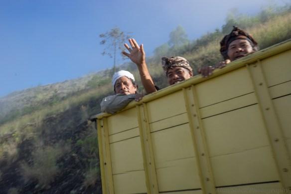 Mount Batur locals