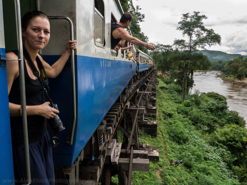 Travelmate Backpacker Train Thailand Jungle